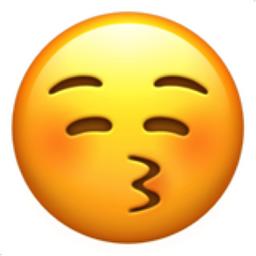 Kissing Face With Closed Eyes Emoji U 1f61a