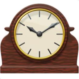 Mantelpiece Clock Emoji U 1f570