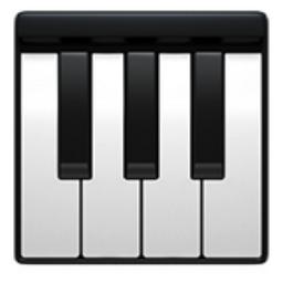 Piano Keyboard emoji