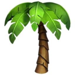 Palm emoji