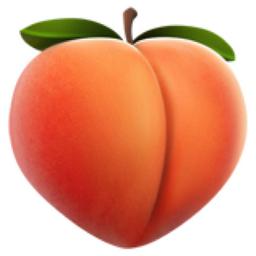 Peach Emoji (U+1F351)
