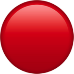 Red Circle Emoji U 1f534