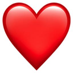 Red Heart Emoji U 2764 U Fe0f