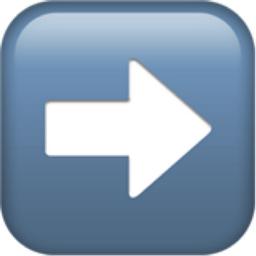 Right Arrow Emoji U 27a1 U Fe0f