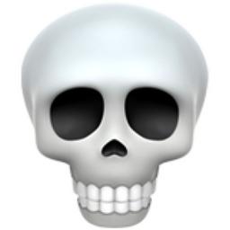 Skull Emoji U 1f480