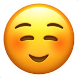 Smiling Face Emoji (U+263A, U+FE0F)