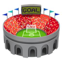 Stadium Emoji U 1f3df