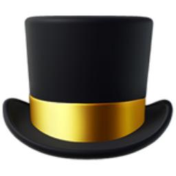 Top Hat Emoji U 1f3a9