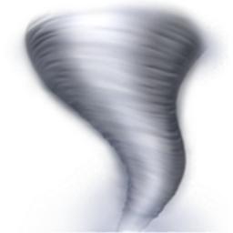 Tornado Emoji U 1f32a