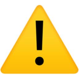 Warning Emoji U 26a0 U Fe0f
