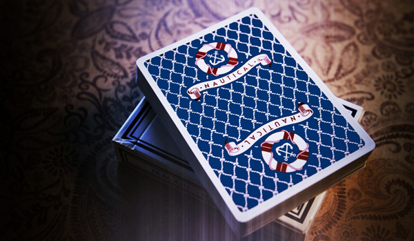 News: The Blue Crown Announces New Playing Card Release- Nautical Playing Cards
