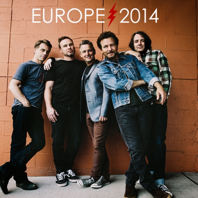 La band di Eddie Vedder in Italia la prossima estate