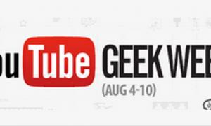 YouTube's Geek Week Kickoff- Blockbuster Sunday!