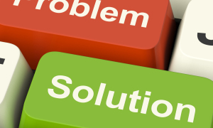 I got problems – you got solutions?