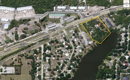 6.27 Acres Waterfront Vacant Land on Gibsonton Drive in Southeast Hillsborough County