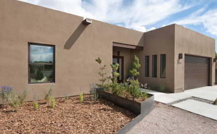 JUST COMPLETED  – 450 Calle Volver – NEW HOMES SANTA FE
