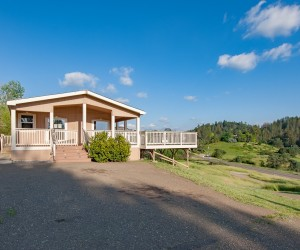 Enjoy the great outdoors and expansive views with this HUD Home!