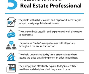 5 Reason to Hire a Realtor