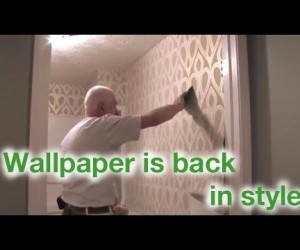 Give Your Home An Instant Facelift: Wallpaper Is Back In A Big Way, Baby!