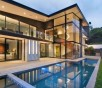 glass house modern design