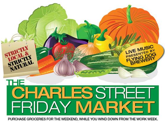 Charles Street Friday Market