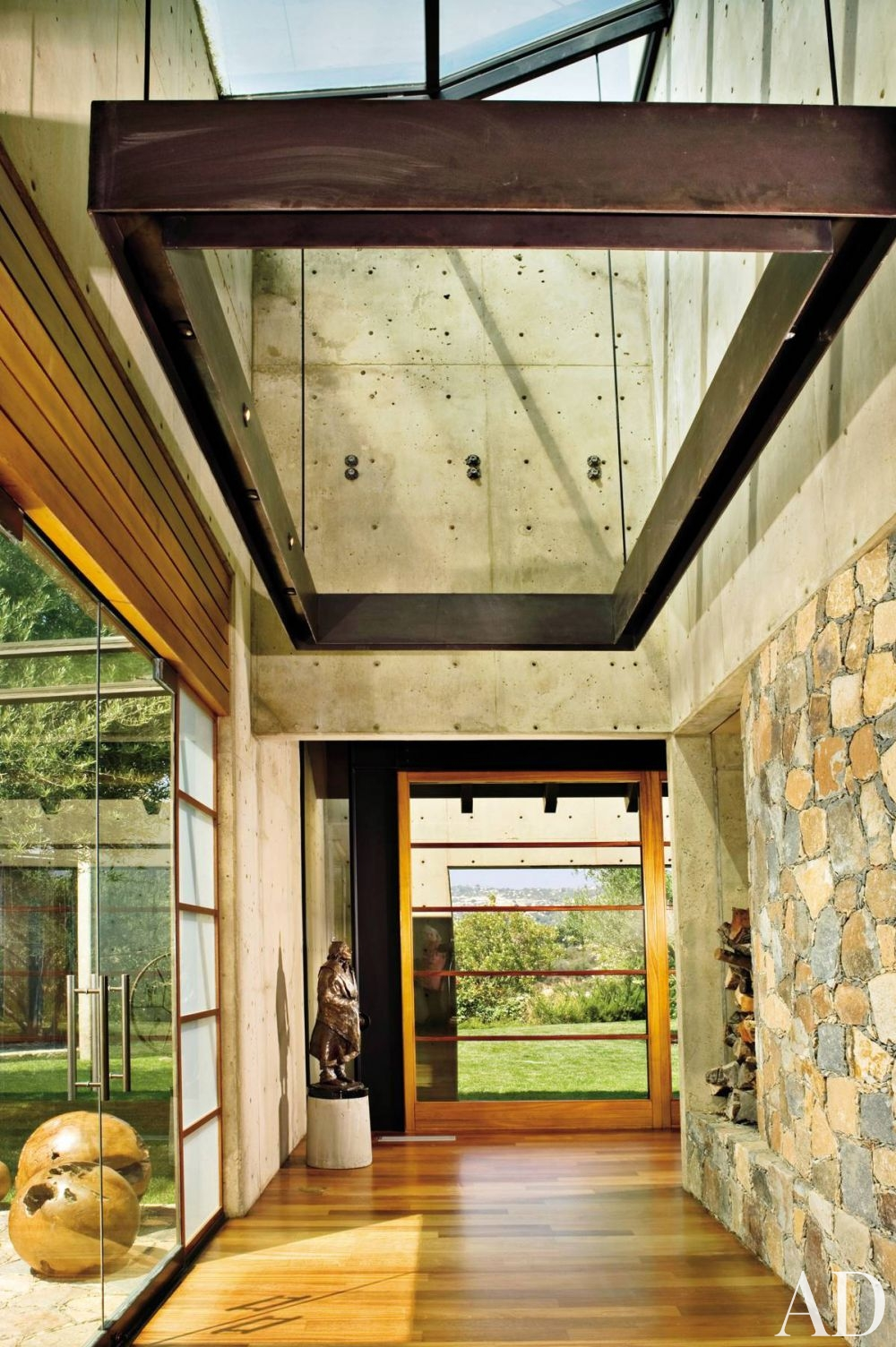 Cement chic? See how bold concrete accents can add an earthy ...