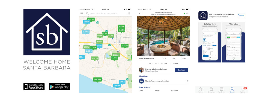 Santa Barbara Real Estate App