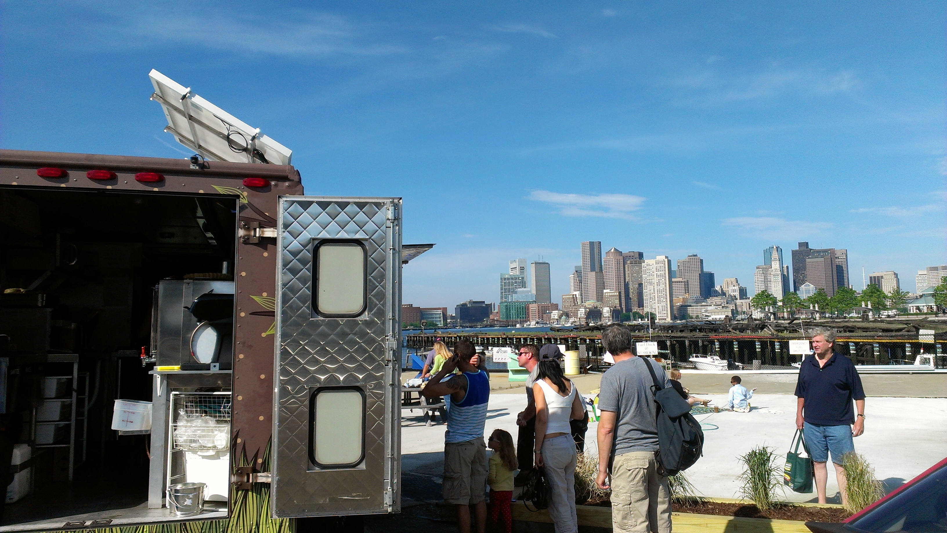 Green Bean Mobile Café Servin' Up Coffee, Community in the Shipyard
