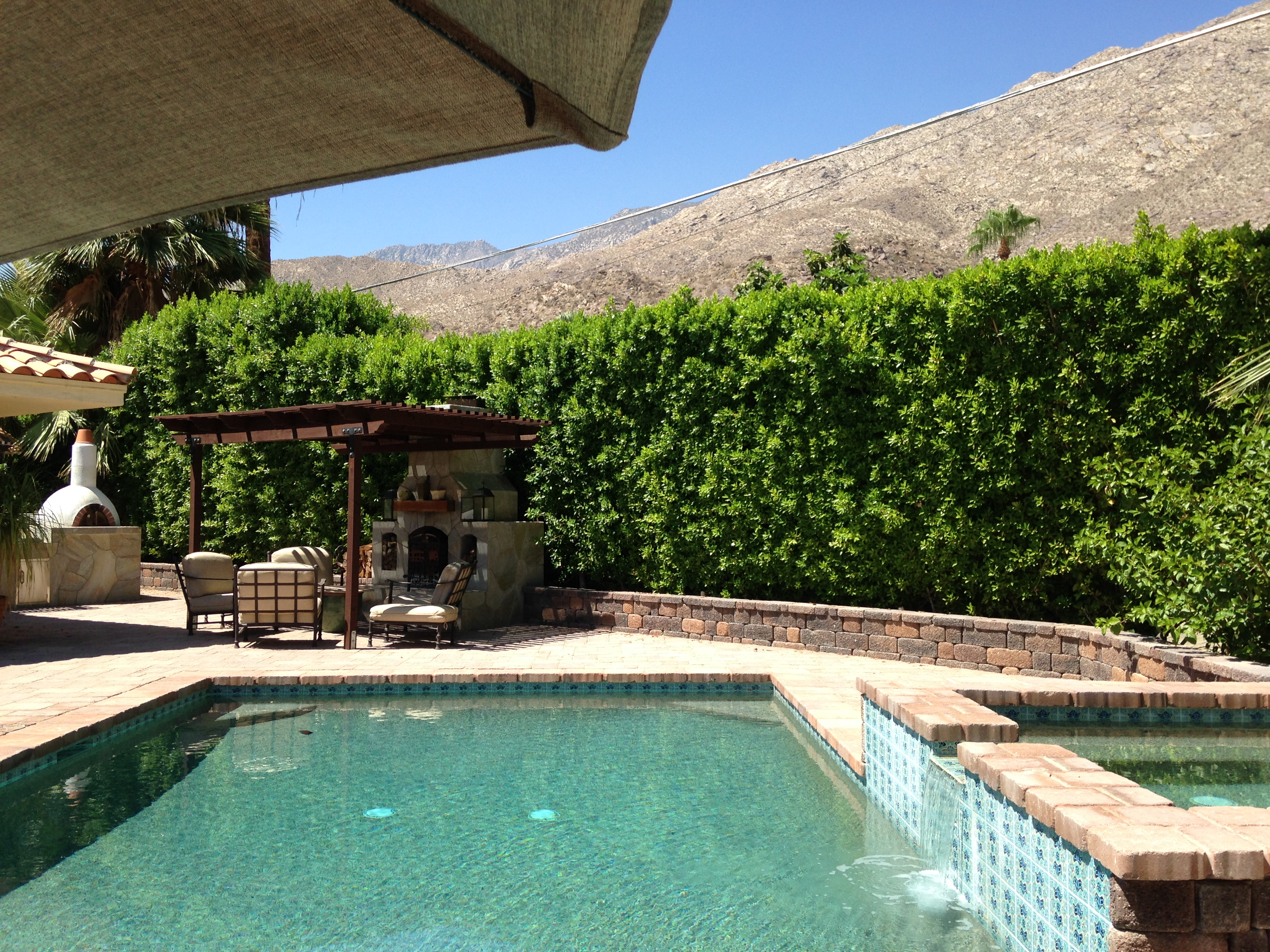 tracy merrigan, palm springs, real estate, open houses palm springs, palm springs real estate, mid-century, mid century modern real estate, harcourts desert homes, The Mesa, Pool, View, Spanish Style