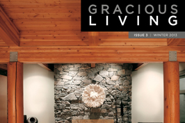 Check out the lastest issue of Gracious Living Magazine