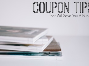 Coupon Tips That Will Save You a Bundle