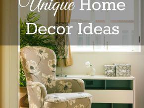 25 Unique Home Decor Ideas