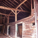 Barn interior - 248 Parker Ave, Holden, MA 01520
