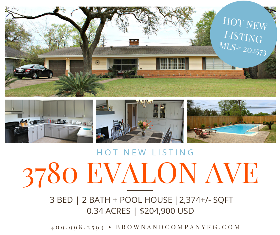 Hot New Listing - 3780 Evalon