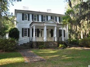 Beautiful Historic Waterfront Plantation For Sale (click for details)