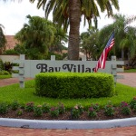 Bay Villas Sign