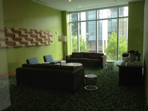 The Music City Center Boardroom lounge