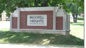 Maxwell Heights Sign