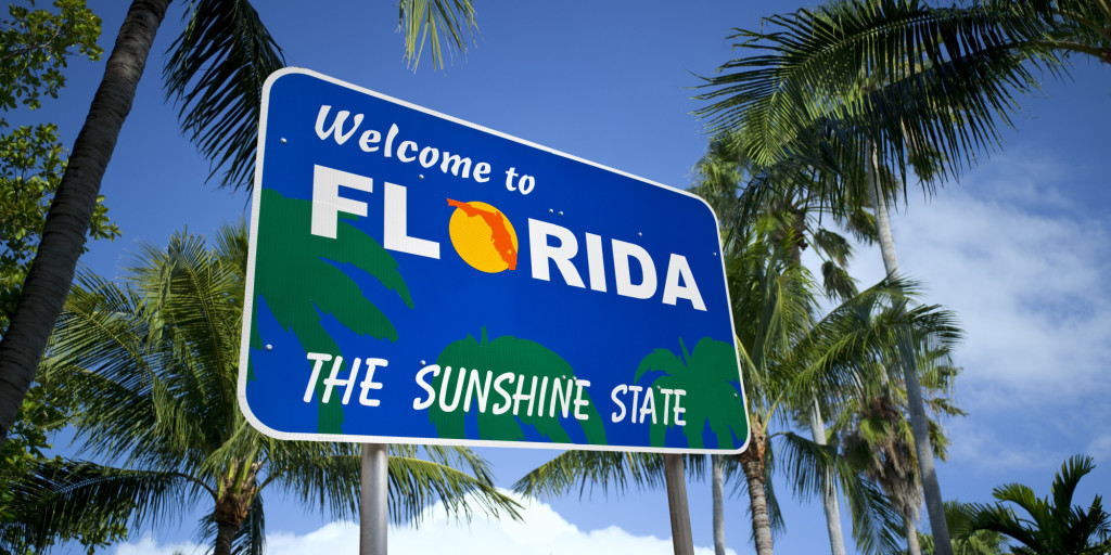 Sunshine State Florida Sign