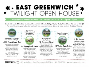 Phipps Realty Hosts an East Greenwich Twilight Open House