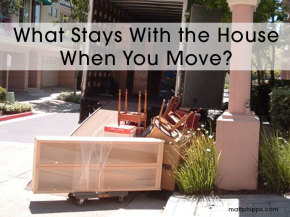 Home Sellers:  What Stays With the House When You Move?