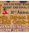 This Weekend: The Tustin Street Fair & Chili Cook-Off