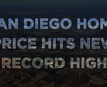 San Diego Home Price Hits New Record High: $550K