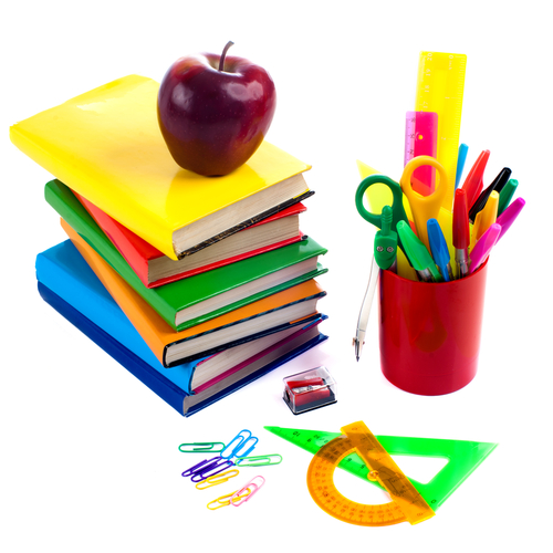 It's Back to School Time - supply lists and calendars