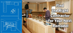 Find the right contractor for your remodel