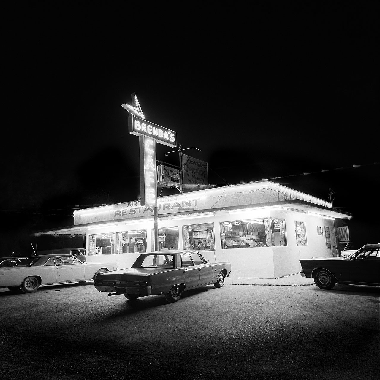 Brenda's Cafe. Lovelock, Nevada 1977