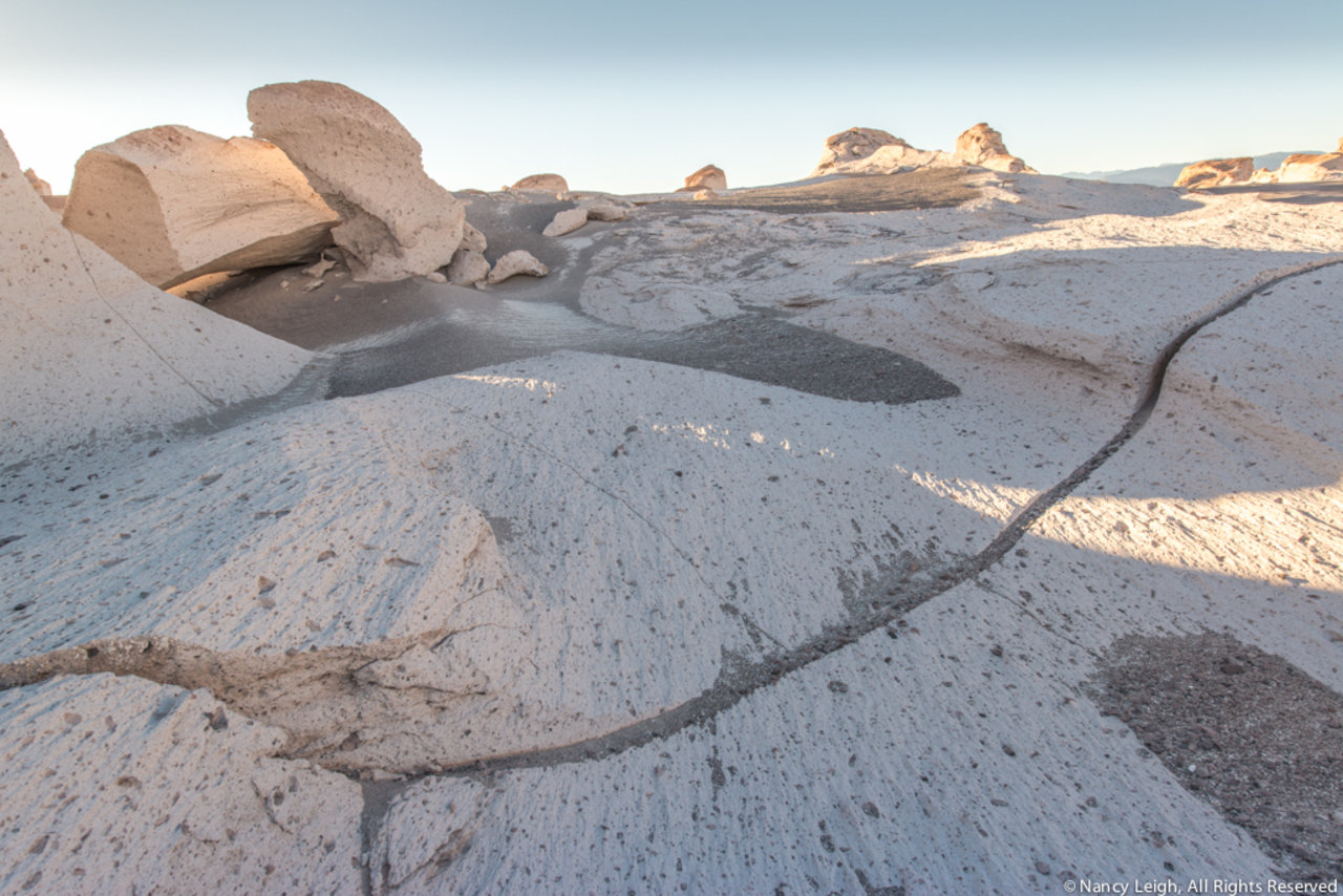 Pumice Stone Field Shadows