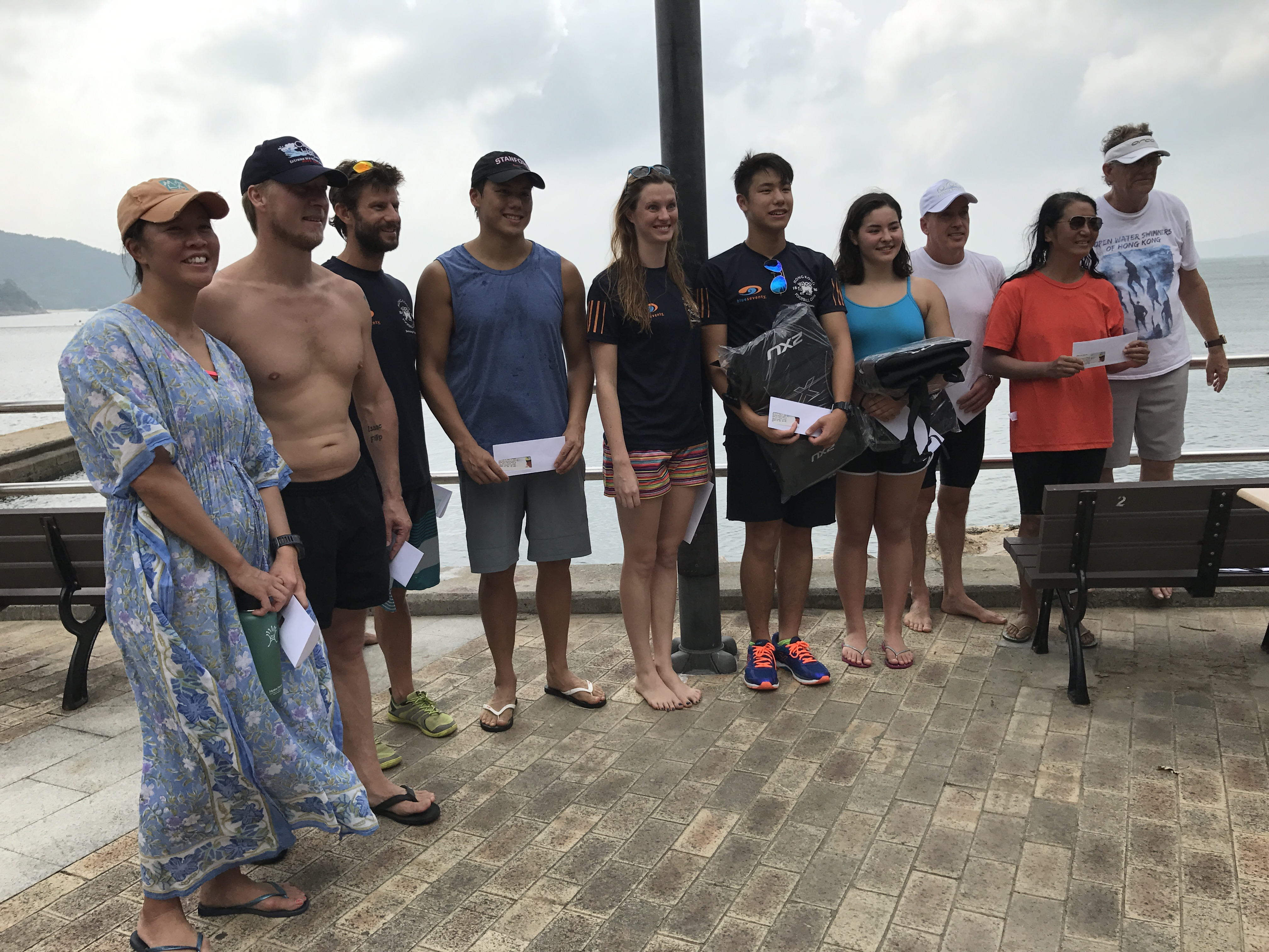 Award presentation for the Middle Island Challenge 2016
