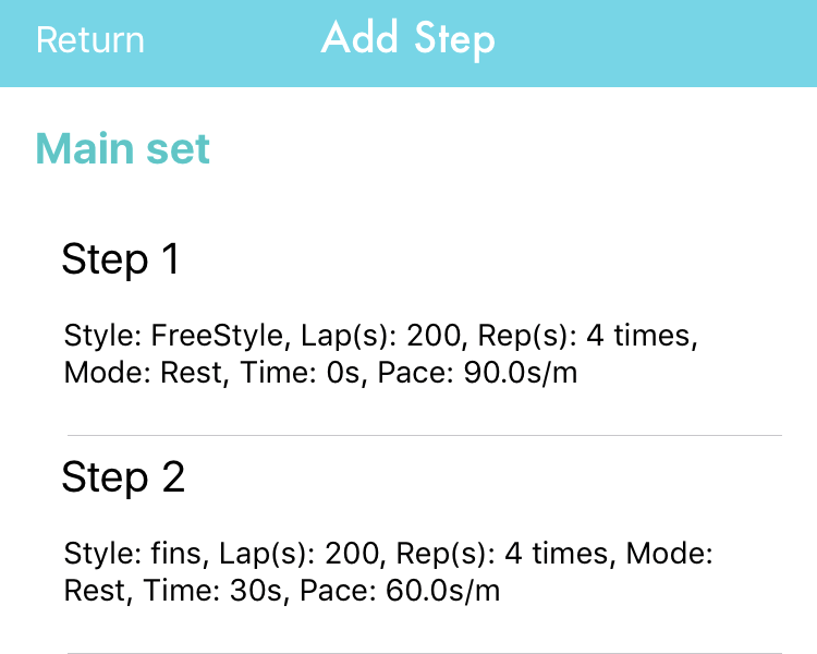 App screenshot for Training Programs