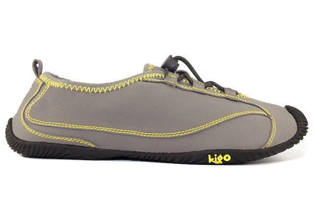 Kigo drive grey yellow stitch   lateral side view 1024x1024